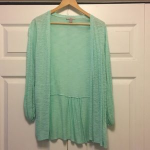 2X Dress Barn summer/spring cardigan